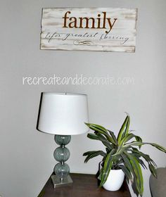 DIY tutorial- making a wooden sign — Recreate and Decorate
