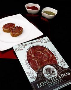 """Lomo ibérico de bellota """"Lomo Embuchado"""" http://7bellotas.com/shop/lomo-embuchado-c-50.html, un lomo de bellota de textura elegante y sabor intenso"""