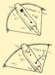 Wooden bow trap