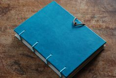 Leather Photo Albums, Handmade Books, Leather Journal, Bookbinding, Notebook, Exercise Book, The Notebook