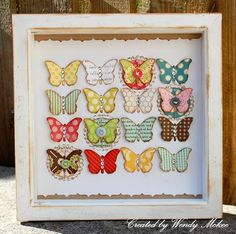 My Ordinary Life...(in a crafty world): Butterflies and using up scraps! with tutorial