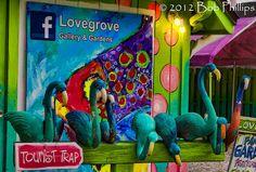 Leoma Lovegrove Gallery & Gardens, Matlacha, Pine Island, Lee County, Florida ~s~3