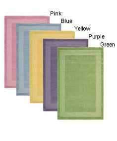 @Overstock - Casual elegance and durable construction update your home or office decor Area rug hand-tufted of 100-percent wool pile Available in a Yellow, Blue, Lime, Pink, or Purple color schemehttp://www.overstock.com/Home-Garden/Hand-tufted-Westport-Wool-Runner-23-x-76/2338736/product.html?CID=214117 $64.79