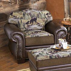 Yellowstone Bears Chair