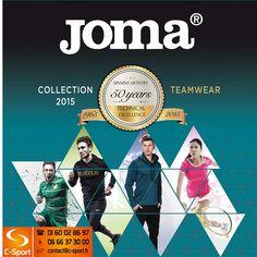 Découvrez le catalogue Joma 2015 : les lignes Combi, Alaska, Invictus et toutes leurs autres collections ! C-Sport.fr - 06 66 37 30 00