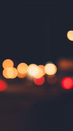 Lights Bokeh Night Blur Pattern #iPhone #6 #plus #wallpaper