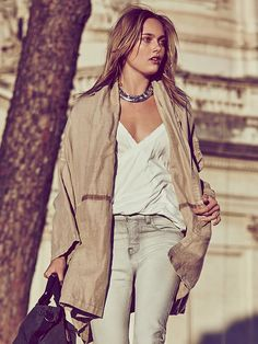 9419b907b2fe Free People At the Seams Slouchy Jacket at Free People Clothing Boutique