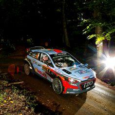 No way to avoid driving through a dark forest tunnel! - 어두운 숲 터널을 지나, 결승선을 향해 달리다!- #darkforest #tunnel #notscared #light #race #carwithoutlimits #i20WRC #Germany #Rally #motorsport #WRC #Hyundai