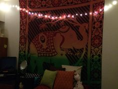 Tapestry and twinkles