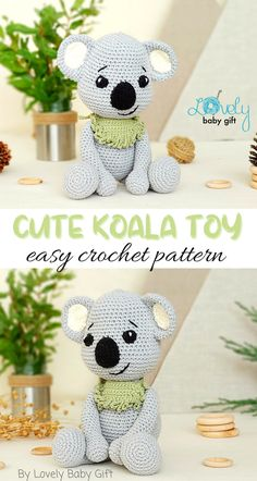 Diy Crochet Amigurumi, Easy Amigurumi Pattern, Amigurumi Toys, Baby Shower Gifts For Boys, Single Crochet Stitch, Crochet For Boys, Crochet Toys Patterns, Crochet Basics, Forest Animals