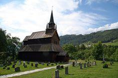 Kaupanger Stave Church, Norway
