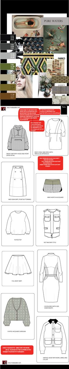 Fashion Illustration Garment Template