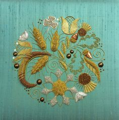 Advanced Goldwork - Susan Cameron   by Love Stitch!