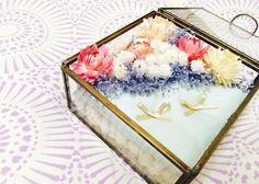 卒花さんのリングピローが見たい♡可愛い卒花さんのリングピローを【厳選11個】ご紹介します*のトップ画像 Wedding Ring Box, Diy Wedding, Dream Wedding, Wedding Stuff, Wedding Pillows, Ring Pillow, Birthday, Flowers, Jewelry Box