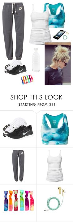 """""""Untitled #8"""" by aninia-helene-drachmann-hoegh ❤ liked on Polyvore featuring NIKE, James Perse, Skinnydip and canvas"""
