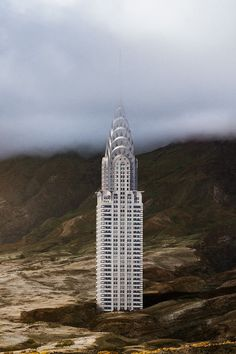 Photographer Anton Repponen plucked 11 of New York's famous landmarks from their urban environment and digitally inserted them into desolate landscapes.