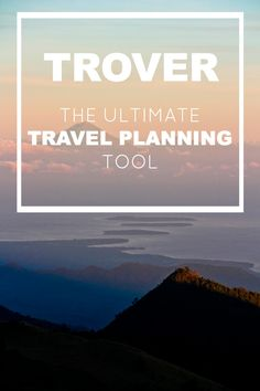 #Trover, a new travel planning app and social media platform. Read about it on Alex in Wanderland