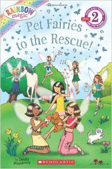 The Paperback of the Pet Fairies to the Rescue! (Rainbow Magic: Pet Fairies Series) by Daisy Meadows, Artful Doodlers Artful Doodlers Ltd. Rainbow Magic Books, Rainbow Magic Fairies, Books For Boys, Childrens Books, Class Pet, Pet Guinea Pigs, New Children's Books, Pokemon Special, Animal Books