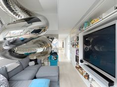 The NYC penthouse with an 80-ft slide
