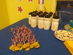 gymnastics party decorating ideas - Google Search