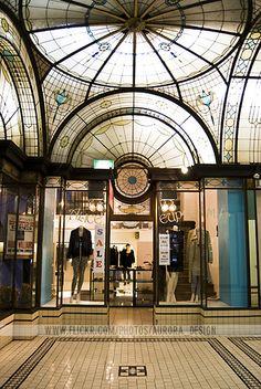 Alice Euphemia - Cathedral Arcade, Nicholas Building #Melbourne Melbourne Laneways, Melbourne Street, Melbourne Art, Melbourne House, Melbourne Australia, Australia Travel, Aurora Design, Melbourne Architecture, Art Nouveau