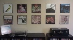 Framing album art. | 36 Things Vinyl Collectors Love