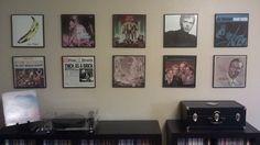 Framing album art. | 36 Things Vinyl Collectors Love