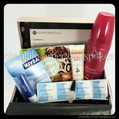 I received my January GLOSSYBOX yesterday and it is full of goodies!