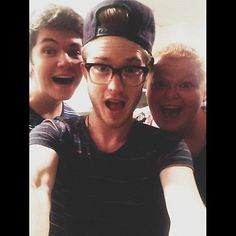 Damian McGinty, Hannah Mcialwain and Cameron Mitchell