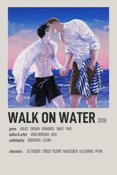 Walk on Water Minimalist Poster