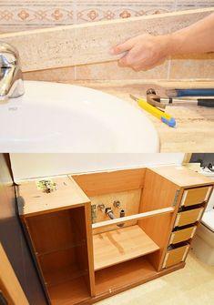 Bathtub, Bathroom, Home, Recycled Furniture, Painting Bathroom Walls, Elegant Bathroom Decor, Bath, Standing Bath, Washroom