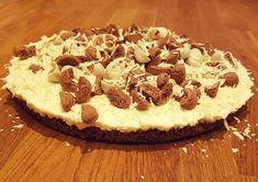 Deze pepernotentaart is eigenlijk een pepernoten cheesecake, zonder oven en snel klaar, wel 4 uur in de koelkast.