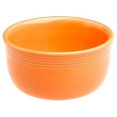 Fiestaware in tangerine