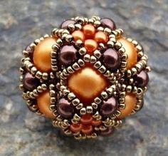 Passo a Passo de Bolas de Miçangas (ou miçangas de miçangas): As bolas de miçangas ou miçangas de miçangas podem ser usadas para fazer muitas bijus legais.