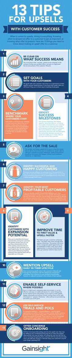 13 Tips for Upsells With Customer Success