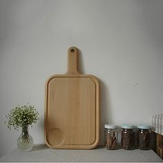 Kitchen boutique convenience and durability Large-size Wooden Cutting Board,L45.5cm x W24.5cm x H2cm *** Don't get left behind, see this great  product : Small Appliances