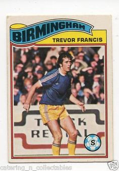 TO-#200 Trevor francis Birmingham - 1970s football card