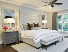 Simondale Project: Master Bedroom, by A Well Dressed Home, LLC. Attainable, livable interiors. For more info visit www.awelldressedhome.com