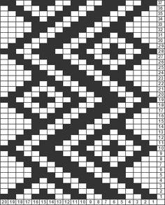 Marvelous Crochet A Shell Stitch Purse Bag Ideas. Wonderful Crochet A Shell Stitch Purse Bag Ideas. Tapestry Crochet Patterns, Bead Loom Patterns, Weaving Patterns, Knitting Charts, Knitting Stitches, Knitting Patterns, Hat Patterns, Free Knitting, Crochet Shell Stitch