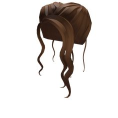 Customize your avatar with the Shimmering Brown Boho Bun and millions of other items. Mix & match this hair accessory with other items to create an avatar that is unique to you! Ball Hairstyles, Summer Hairstyles, Brown Hair Roblox, Super Happy Face, Girl Hair Colors, Cute Tumblr Wallpaper, Blonde Fashion, Create An Avatar, Roblox Pictures