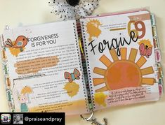 Day 69/100 Days of Bible Promises. He has forgiven us now it's time to forgive ourselves. #100daysofbiblepromises #lot95designs #praiseandpray #100dayproject #biblejournal #biblejournaling #bibleartjournal #documentedfaith #illustratedfaith #biblejournalingcommunity #artworship #faithplanner #artjournal #biblestudy #mixedmedia #artjournaling #scrapbooking