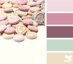 sweet valentines Color Palette - Paint Inspiration- Paint Colors- Paint Palette- Color- Design Inspiration