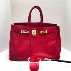 Brought this Hermes Birkin back to life 9dae8413ca52a
