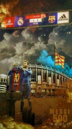 Messi 500 goles.  23 de Abril de 2017