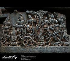 The Ruined City Halebidu or Dorasamudra or Dwarasamudra. The regal capital of the Hoysala Empire in the 12th century. | Sarath Raj