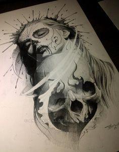 skulls by AndreySkull.deviantart.com on @DeviantArt