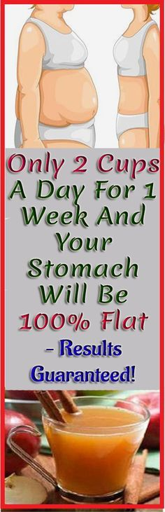 Only 2 Cups A Day For 1 Week And Your Stomach Will Be 100% Flat – Results Guaranteed! #weightloss #drinks #healthyDrinks #Stomach #abs #flat