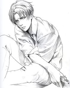 Ooh...Levi looks so hawt! in this one