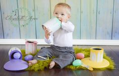Easter Egg Painting Set,Photo Prop,Photography prop,Egg,Props, Easter props~Easter eggs,Easter mini session, prop,Easter,spring props,child by RockinRphotoprops on Etsy