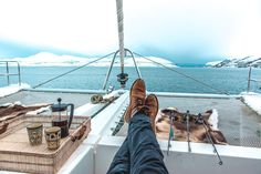 Arctic Fjord Sailing Tromsø - Come join us on a spacious catamaran with a small group to witness marine life and try fishing in the Arctic. Pukka, Tromso, Catamaran, Winter Months, Marine Life, Arctic, Eagles, Norway, Safari